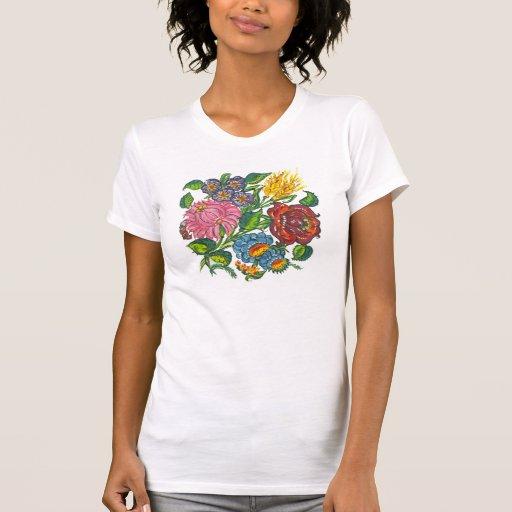 hungarian flowers shirt