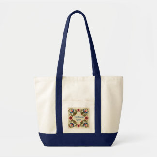 Hungarian Folk Art Tote Bag