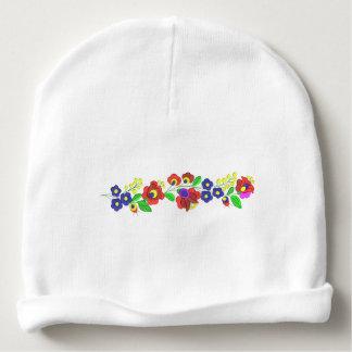 Hungarian folk motifs hat baby beanie