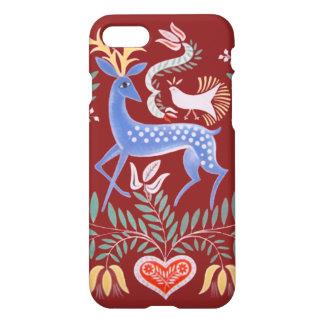Hungarian Folkart Stag iPhone 7 Case