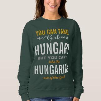 Hungarian  Girl Sweatshirt