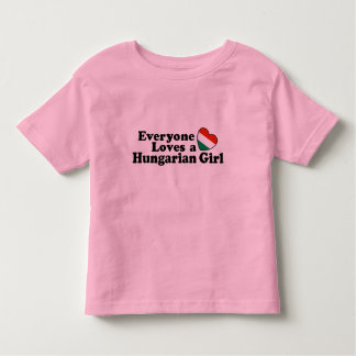 Hungarian Girl Toddler T-shirt