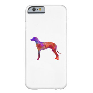 Hungarian Greyhound in watercolor Barely There iPhone 6 Case