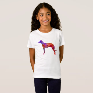 Hungarian Greyhound in watercolor T-Shirt