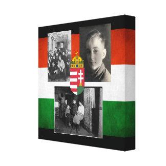 Hungarian Heirloom Photos Canvas Print