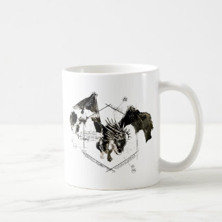 Hungarian Horntail Dragon Coffee Mug