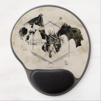 Hungarian Horntail Dragon Gel Mouse Pad