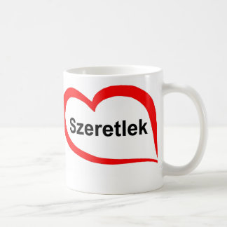 Hungarian I love you Coffee Mug