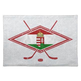 Hungarian Ice Hockey Logo Placemats