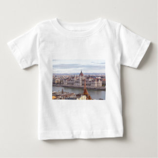 Hungarian Parliament Budapest by day Baby T-Shirt