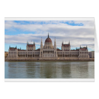 Hungarian Parliament Budapest by day Card