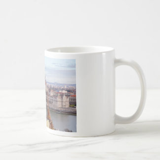 Hungarian Parliament Budapest by day Coffee Mug