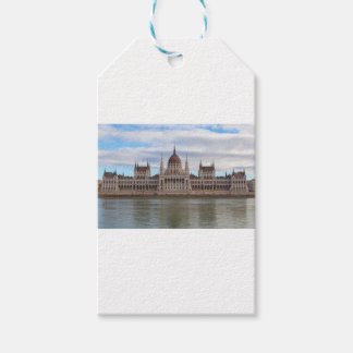 Hungarian Parliament Budapest by day Gift Tags