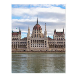 Hungarian Parliament Budapest by day Letterhead