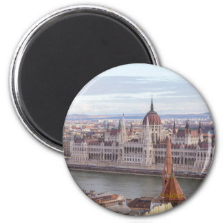 Hungarian Parliament Budapest by day Magnet