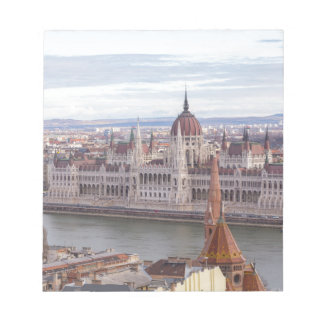 Hungarian Parliament Budapest by day Notepad
