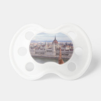 Hungarian Parliament Budapest by day Pacifier