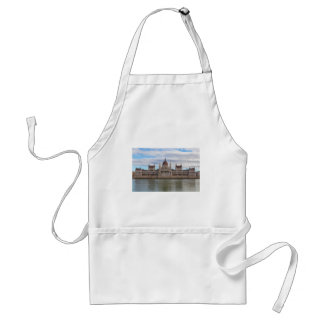 Hungarian Parliament Budapest by day Standard Apron