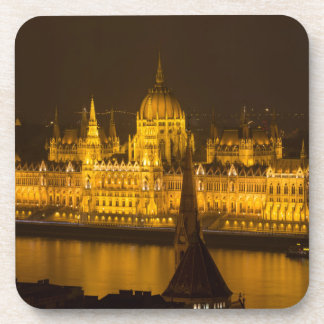 Hungarian Parliament Budapest by night Coaster