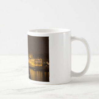 Hungarian Parliament Budapest by night Coffee Mug