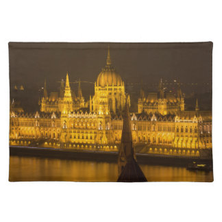 Hungarian Parliament Budapest by night Placemat