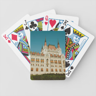 Hungarian Parliament building Bicycle Playing Cards