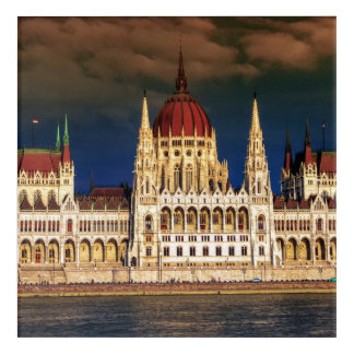 Hungarian Parliament Building in Budapest, Hungary Acrylic Print
