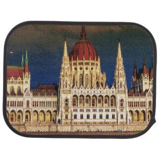 Hungarian Parliament Building in Budapest, Hungary Car Mat