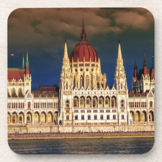 Hungarian Parliament Building in Budapest, Hungary Coaster