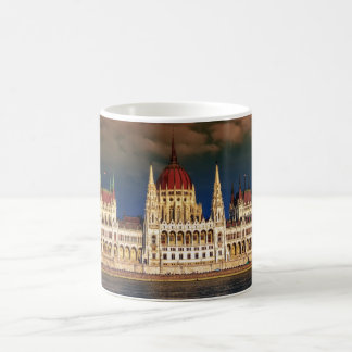 Hungarian Parliament Building in Budapest, Hungary Coffee Mug