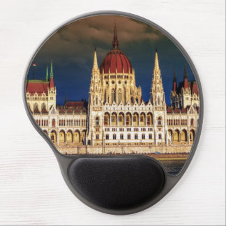 Hungarian Parliament Building in Budapest, Hungary Gel Mouse Pad