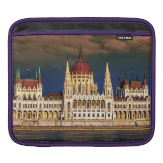Hungarian Parliament Building in Budapest, Hungary iPad Sleeve