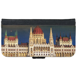 Hungarian Parliament Building in Budapest, Hungary iPhone 6 Wallet Case