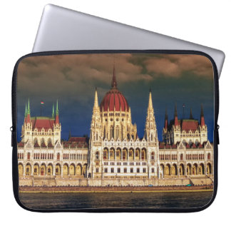 Hungarian Parliament Building in Budapest, Hungary Laptop Computer Sleeve