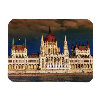 Hungarian Parliament Building in Budapest, Hungary Magnet