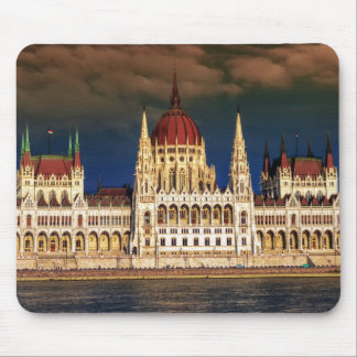 Hungarian Parliament Building in Budapest, Hungary Mouse Pad