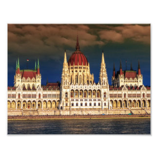Hungarian Parliament Building in Budapest, Hungary Photo Print