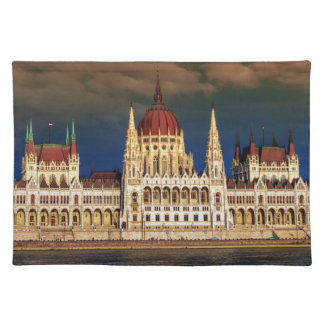 Hungarian Parliament Building in Budapest, Hungary Placemats