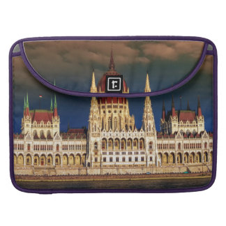 Hungarian Parliament Building in Budapest, Hungary Sleeve For MacBooks