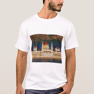 Hungarian Parliament Building in Budapest, Hungary T-Shirt