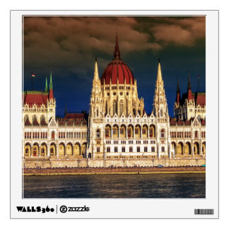 Hungarian Parliament Building in Budapest, Hungary Wall Sticker