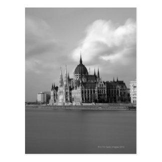 Hungarian Parliament building Postcard