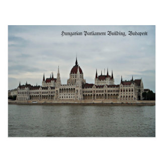 Hungarian Parliament Building Postcard