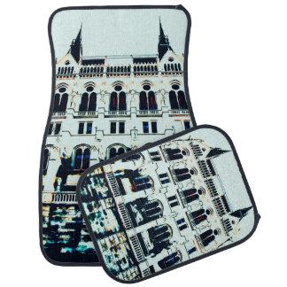 Hungarian Parliament painting Car Mat