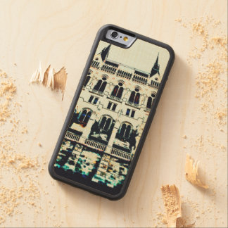 Hungarian Parliament painting Carved Maple iPhone 6 Bumper Case