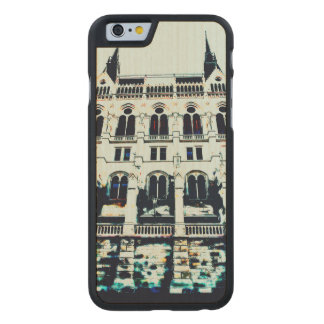 Hungarian Parliament painting Carved Maple iPhone 6 Case