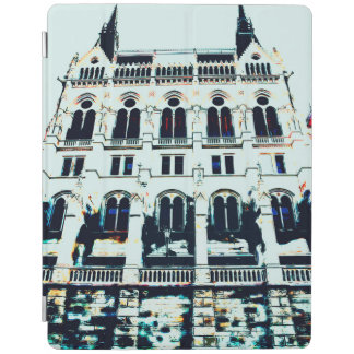 Hungarian Parliament painting iPad Cover