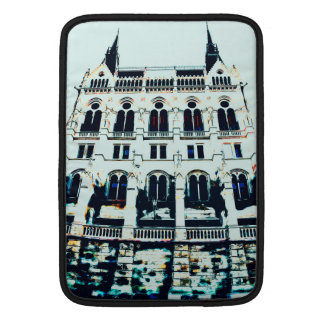 Hungarian Parliament painting MacBook Sleeve