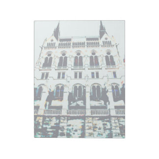 Hungarian Parliament painting Notepad