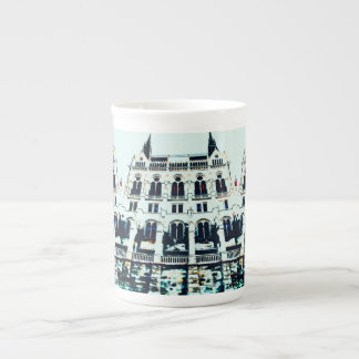Hungarian Parliament painting Tea Cup